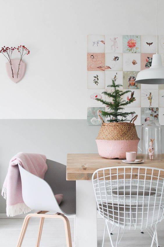 tons pasteis sala escandinava com detalhes