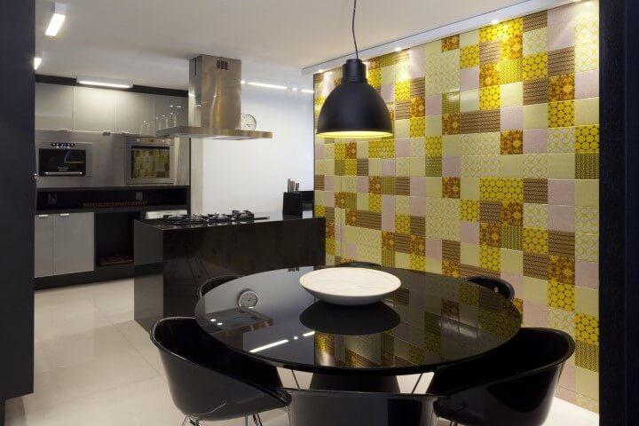 Pisos para cozinha bege Projeto de 1 1 Arquitetura Design