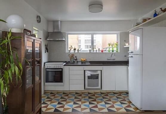 Pisos para Cozinha: +67 Modelos Lindos Para Usar no Seu Ambiente