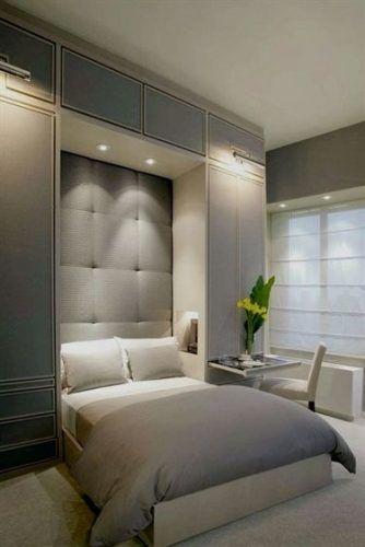 Cama de casal retrátil para quarto pequeno, dentro do armário