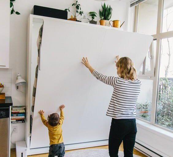 Cama Retrátil: +55 Modelos Práticos e Funcionais para Sua Casa