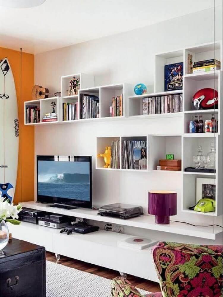 nichos para sala de TV