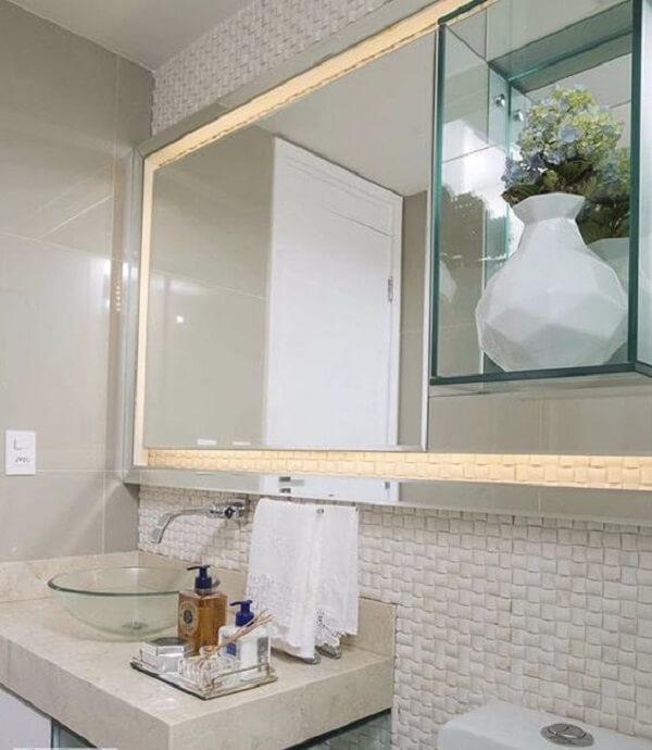 pia de banheiro de vidro curva de vidro