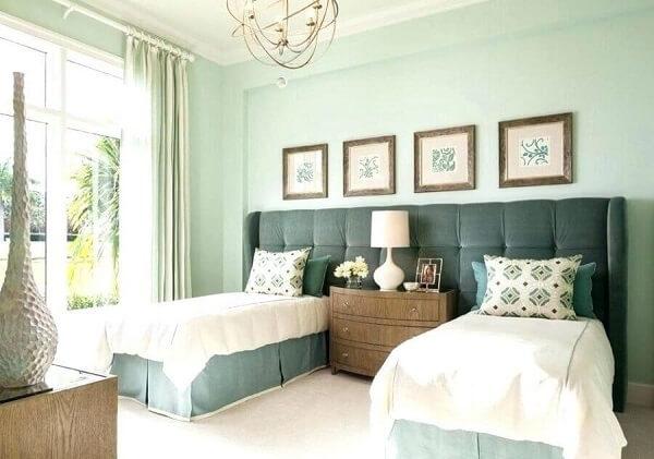 A cama box solteiro é uma ótima alternativa para quartos compartilhados