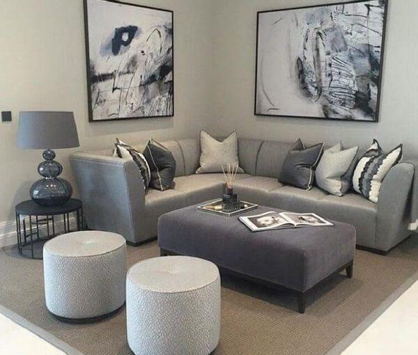 Saiba Como Escolher o Sofá de Canto Pequeno Perfeito Para Sala