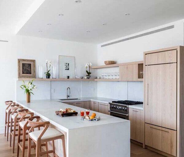 Confira Ideias para Armário de Cozinha Completo Bonitos e Funcionais
