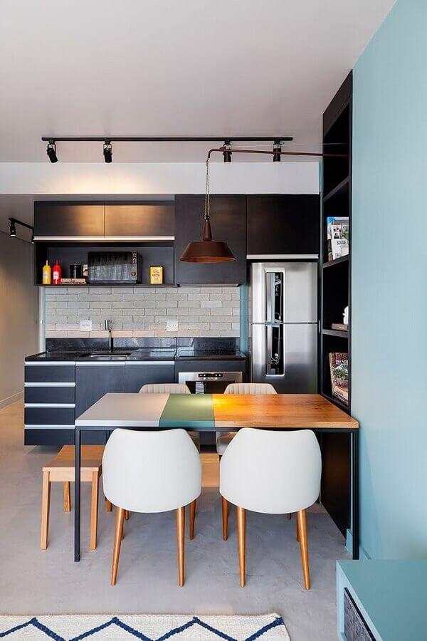 Aposte em móveis e armário de cozinha completo moderno