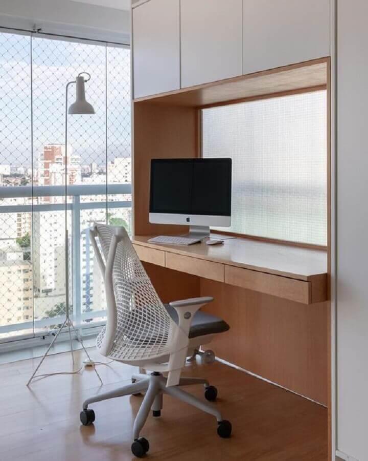 decoração com cadeira de escritório confortável moderna Foto Herman Miller Brasil