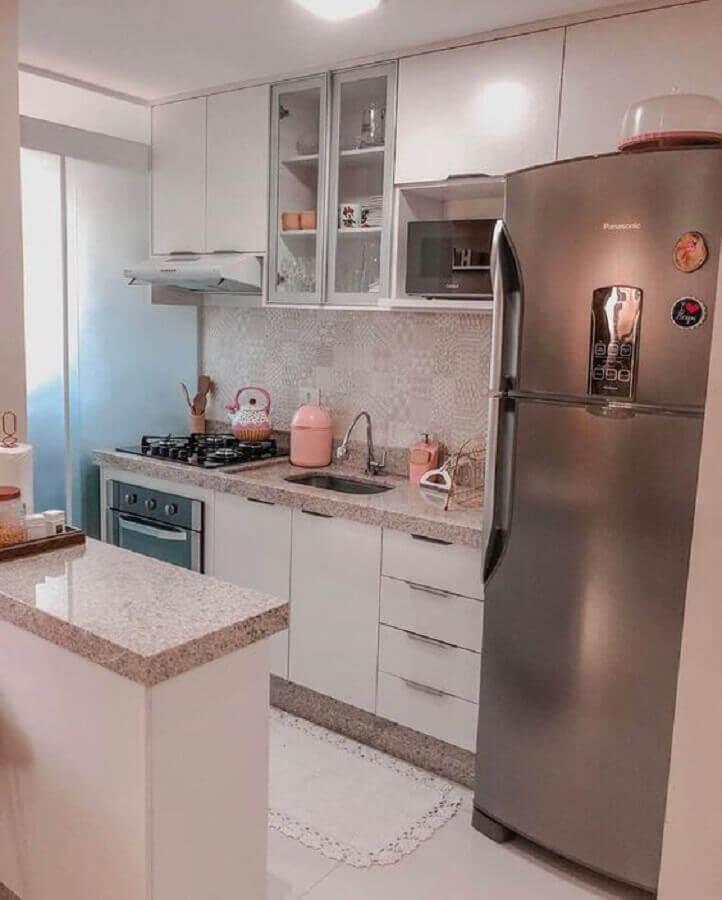 ideias para cozinha pequena simples Foto Pinterest