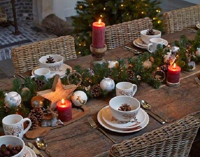Enfeites de Natal Para Mesa: Veja Dicas Fáceis de Fazer