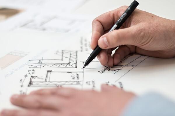 O Arquiteto é responsável por determinar quais materiais, técnicas e metodologias serão utilizadas na obra