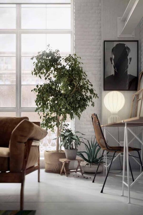 vaso de chão decorativo para sala simples Foto Behance