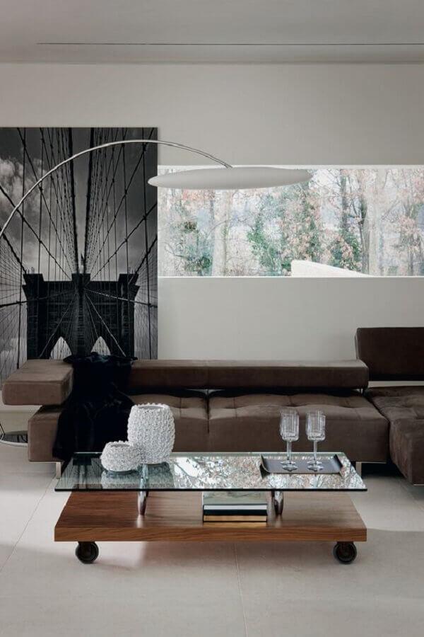 vasos de decoração para sala de estar moderna Foto Design Depot Furniture