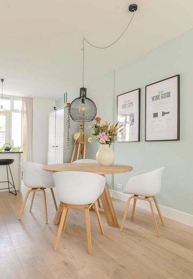 vasos decorativos para sala de jantar clean  Foto Fashionismo