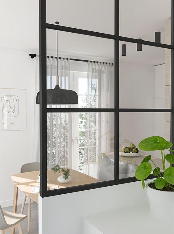 Divisórias de vidro são práticas para o escritório