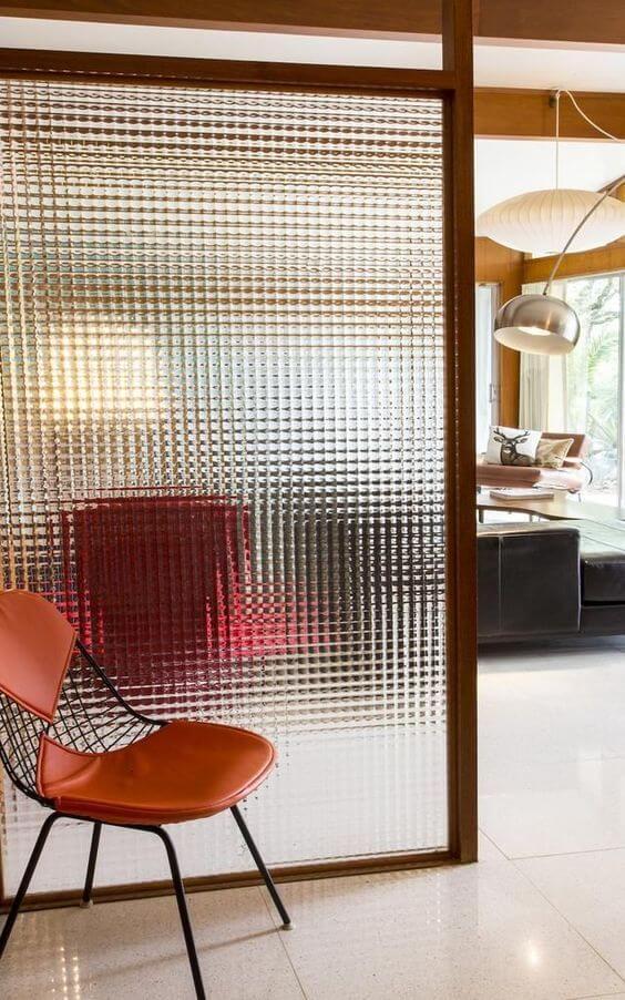 Divisórias para escritório feita de vidro