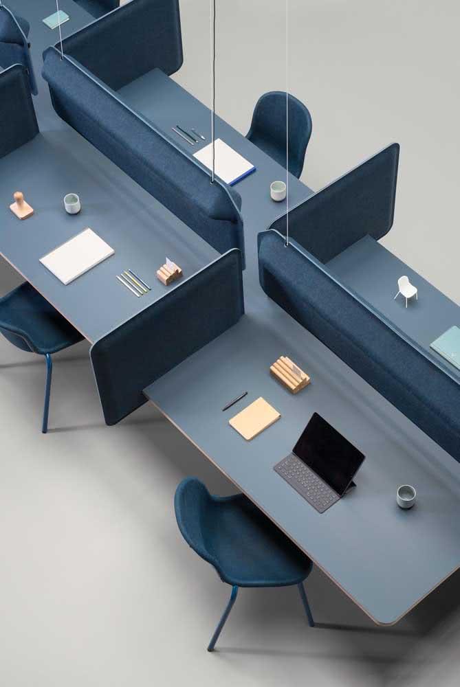 Divisórias para mesa de escritório