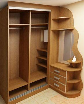 armário de canto - armário de canto reto com curvas e gavetas