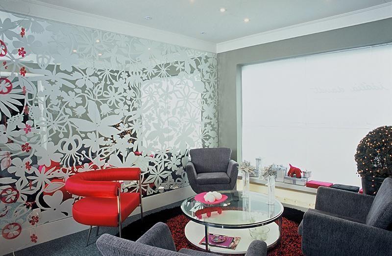 poltrona vermelha - poltrona vermelha com design moderno