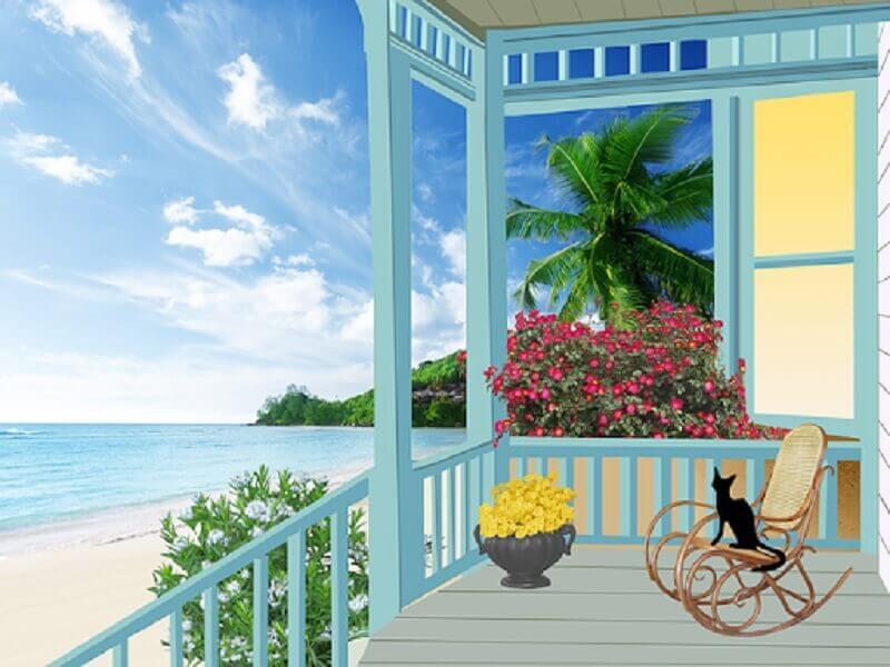 Saiba como aproveitar melhor o espaço da sua varanda Foto Pixabay