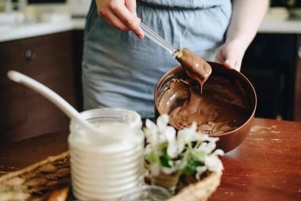 Receita de calda de chocolate para mousse de chocolate