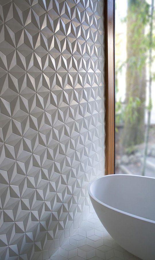 papel de parede 3d - papel de parede 3d ao lado de cuba