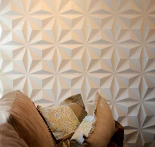 papel de parede 3d - papel de parede 3d simples branco