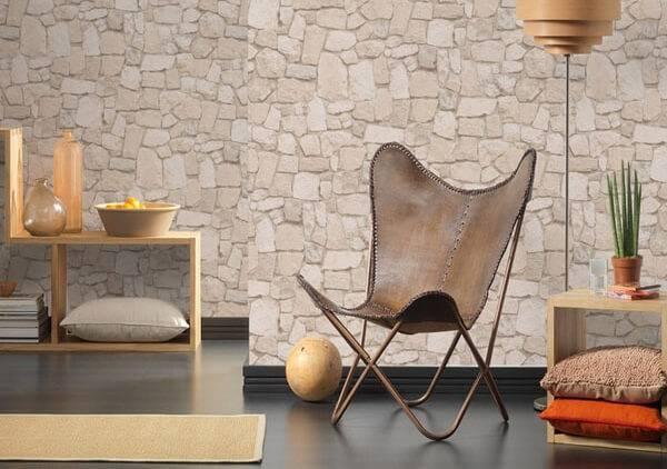 Papel de parede 3D de pedra