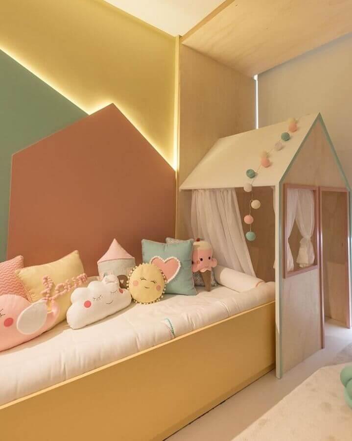 Decoração lúdica para quarto candy color infantil Foto The Ofy