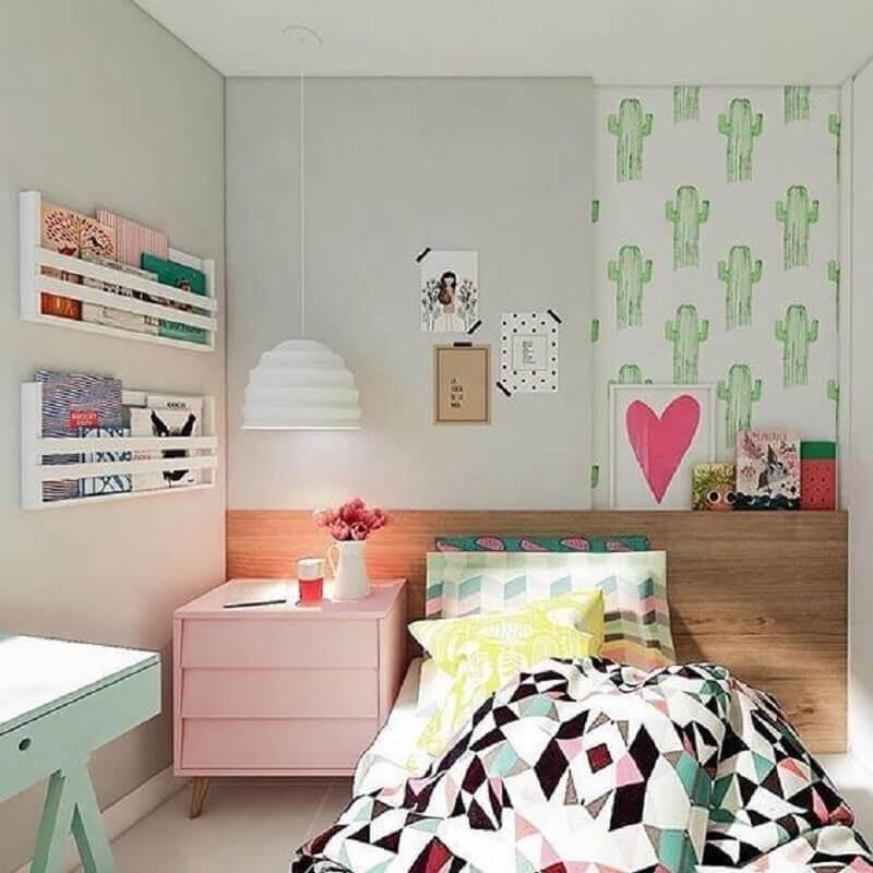 Móveis para decoração de quarto de menina colorido Foto Zombie Fashion Society