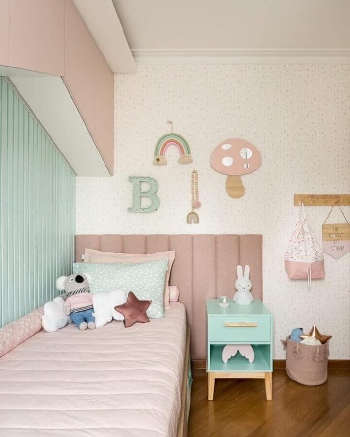 Tons pastéis para decoração infantil Foto Studio Farfalla